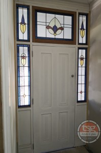 Tomasz Stained Glass Front Entry