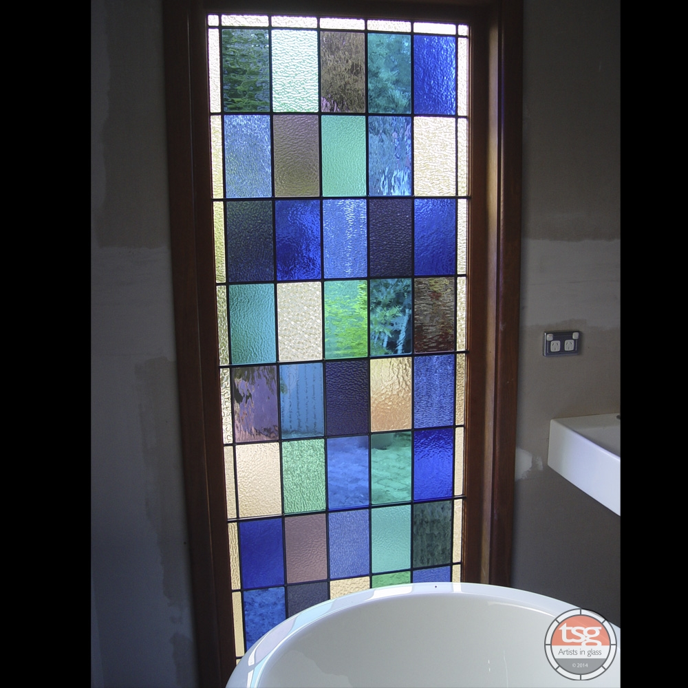 bathroom stained glass windows tsg