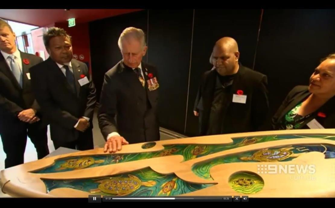 Royal visit channel 9 - National Museum